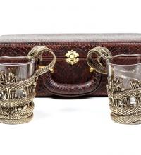 Набор стаканов для виски Змей