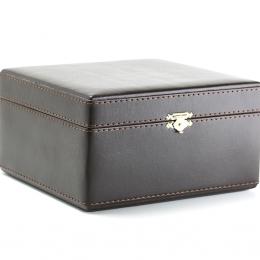 Упаковка для подстаканника зам.кожа коричневая